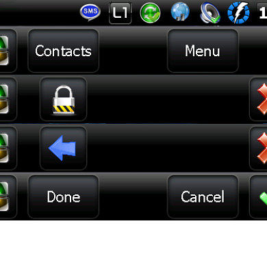 Change the Taskbar in Windows Mobile 6.5.x