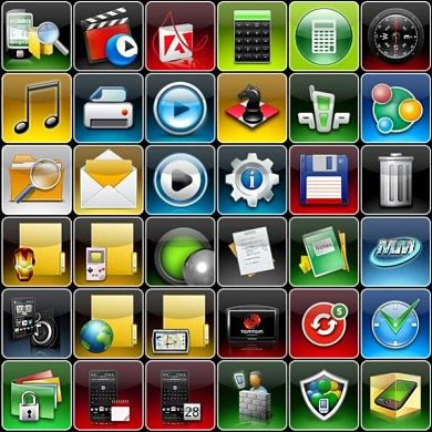 Dinik's Icon Set Updated With New Icons
