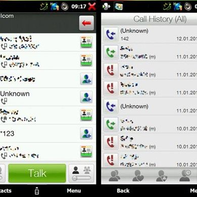 HTC Dialers & Call History Colored Icons