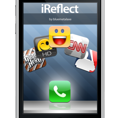 iReflect – high-quality iPhone-style icons