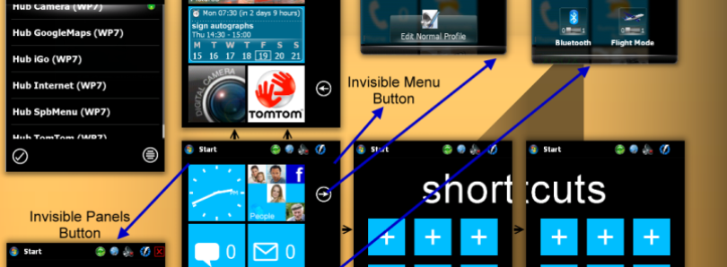Windows Phone 7 Theme for Spb Mobile Shell 3.5.3