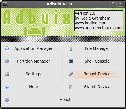 android adb file manager windows
