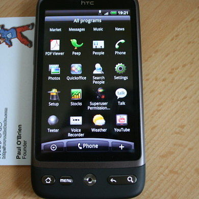 Root achieved on HTC Desire