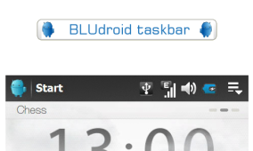 BLUdroid Taskbar: Another Modified Android Taskbar for WM