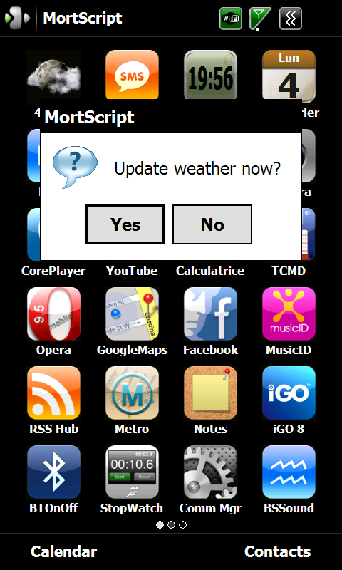 MortScript] IPTWeather: AccuWeather, My Location/Latitude