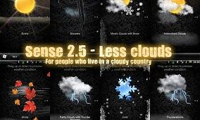 Lower the Amount of Clouds on Sense