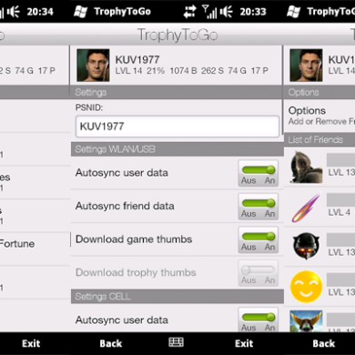 View PlayStation Trophies on your Phone with TrophyToGo