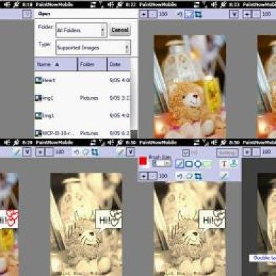 Paint Now! Edit Images on the Go on Windows Mobile