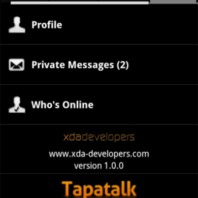 Official XDA Android App Updated to v1.0.0