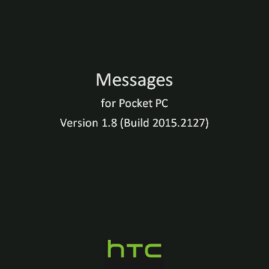 HTC Messaging Client v1.8 Available