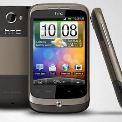 HTC Wildfire Section Added