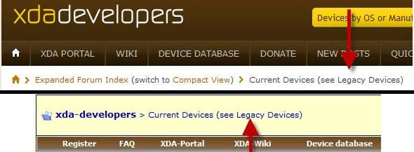Too Many Forums on XDA? A Solution.