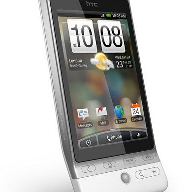 Jelly Bean and Ice Cream Sandwich on the HTC Hero