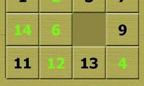 15puzzle Game for HD2