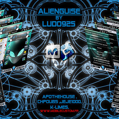 Alienguise UI for QVGA-WQVGA Devices