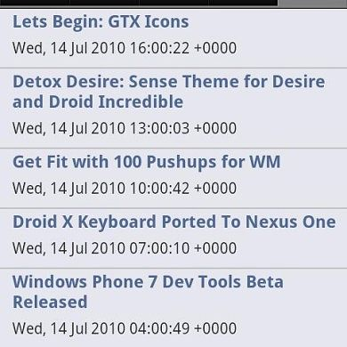 XDA App for Android Updated to v1.2