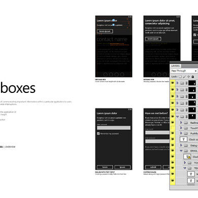 Official WP7 UI Design Template Released, 28 PSDs Directly from Microsoft