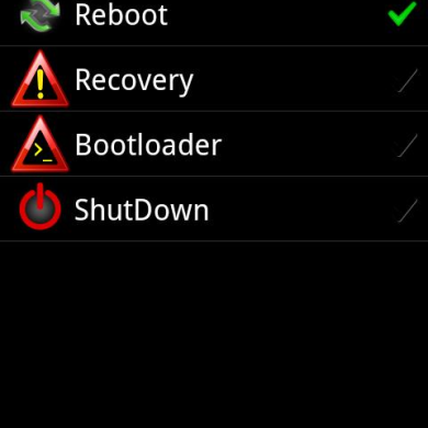Schedule Reboot with PowerBoot for Android