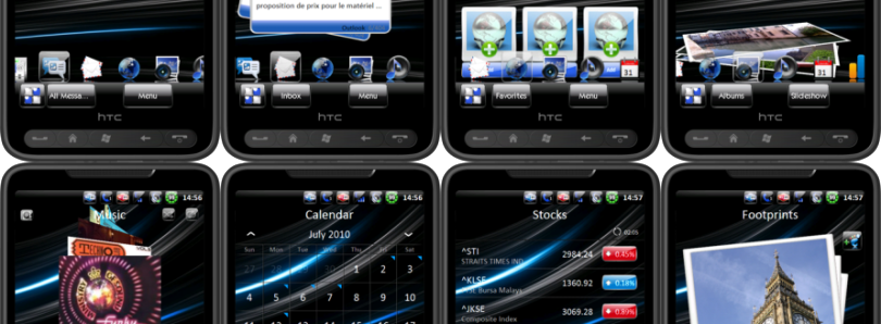 Theme Touch of Glass Sense 2.5  for WM