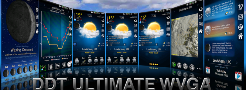 DDT WVGA Theme for Weatherpanel 2010 Updated