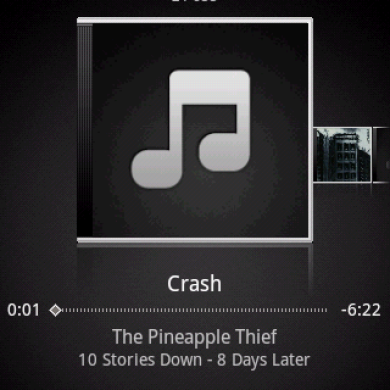 HTC Music Available for Android Eclair