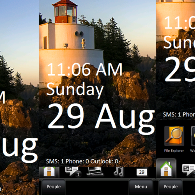 New WP7 Lock Screen for HD2