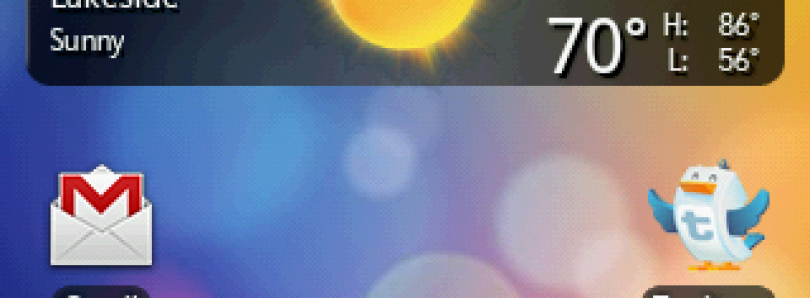 Sense-Like Android Launcher