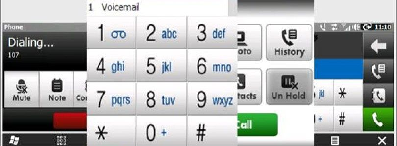 Dialer Alternative for WQVGA Devices