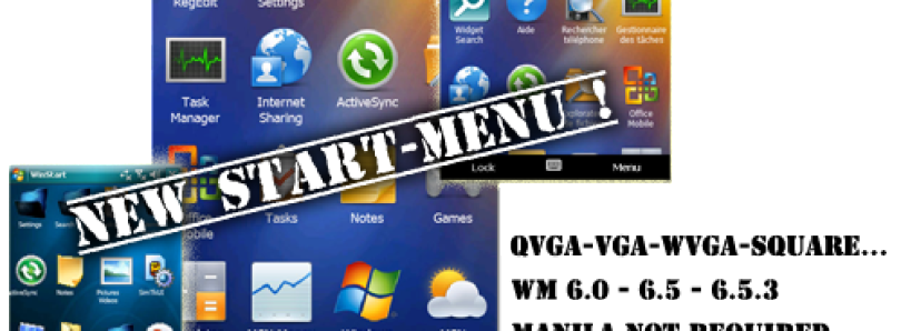 Animated New Start Menu for WM – WinStart