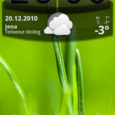 Skins-Widget for Android – Gingerbread Style