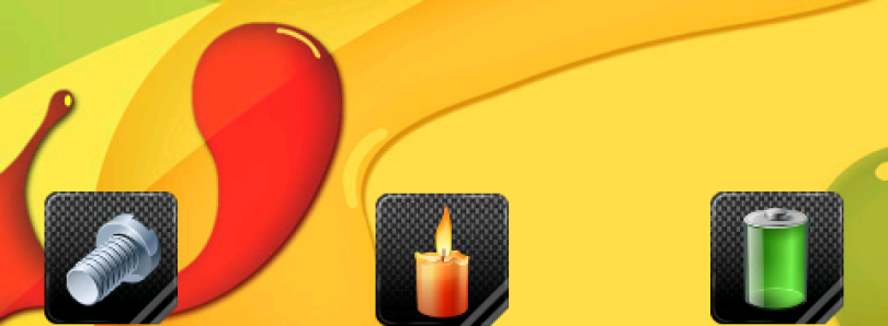 Carbonized Icons Collection for Android