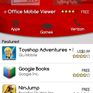 Red Theme for Android Market