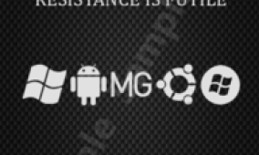 RESISTANCE IS FUTILE: HD2 Boot Screen