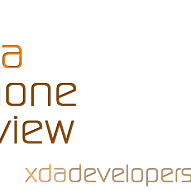 Introducing XDA's Phone Review: Reviews from the Poweruser's Point of View