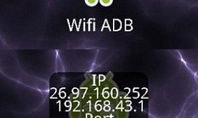 Push Files With ADB Over Wifi Widget for Android