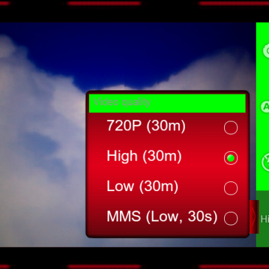 Dark Red Camera Mod for Android