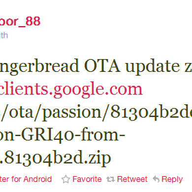 Gingerbread 2.3.3 GRI40 Update.zips Found for Nexus One and Nexus S!