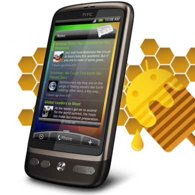 Honeycomb's Newest Family Member: the HTC Desire