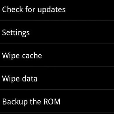 ROM Updating Utility for Android Devices