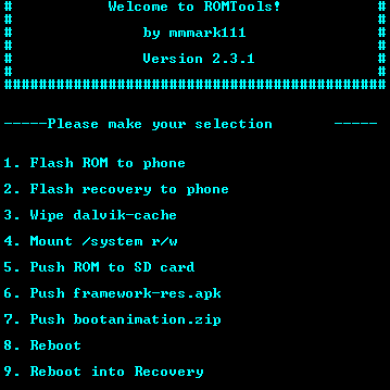 ROMTools Saves Us From the Command Line Blues