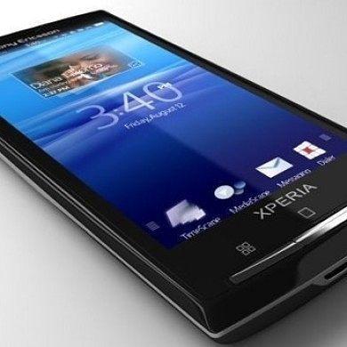 Xperia X10 to Get Official Gingerbread
