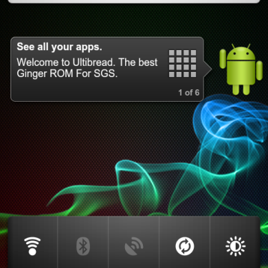 Android Gingerbread 2.3.2 Now Available on Samsung Galaxy S