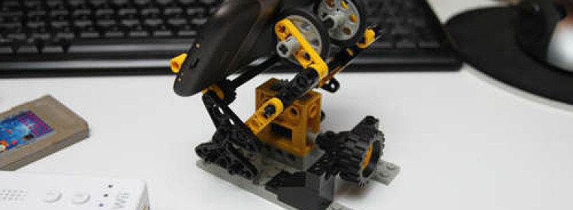 LEGO Adjustable Mobile Stand (Cradle)