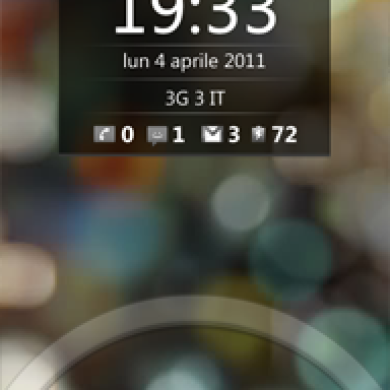Honeycomb Lockscreen for Android 2.3
