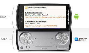 Rooting Your (Xperia) PLAY as Easy as Child's Play?