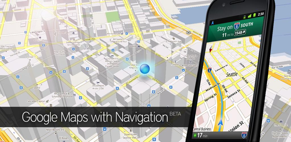 Google Maps 5.2.1 With Navigation Unlocked for Android on google maps pacific northwest, google maps batman, google maps app, google maps 2014,