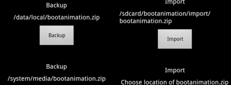 Manage All Your Boot Animations with Bootanimation Utility