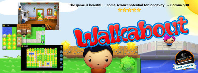Be Careful About Which Way You Go – Walkabout for Android