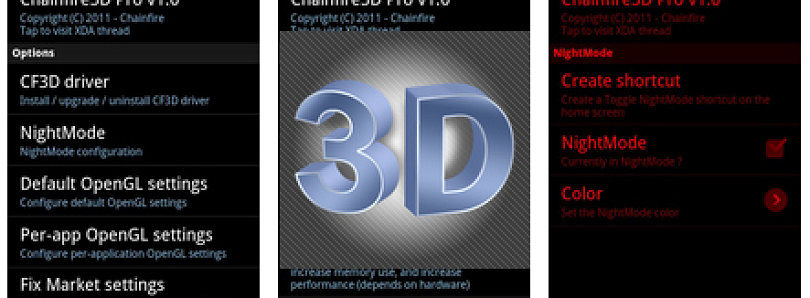 Take Control of All Aspects of Your Device's 3D Rendering Subsystem with Chainfire3D!