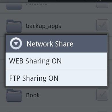 Android File Expert With Enhanced Networking Support